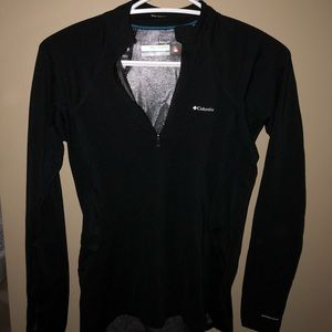 Black quarter zip long sleeve